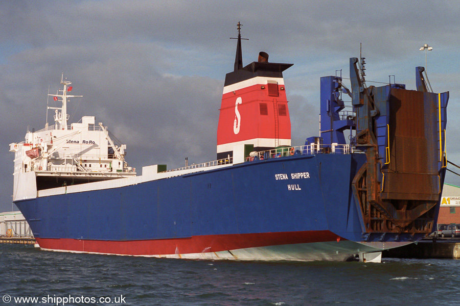 Stena Shipper pictured in Southampton on 2nd February 2003