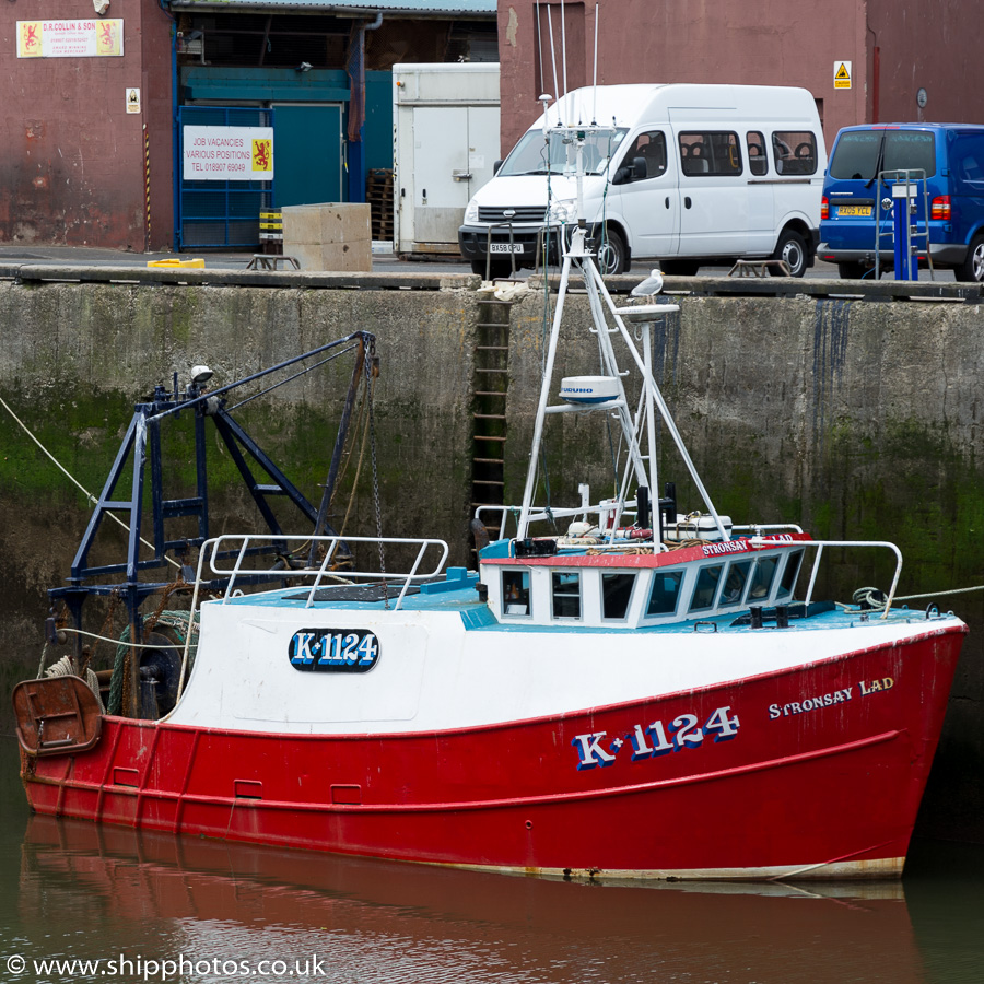 Stronsay Lad pictured at Eyemouth on 5th July 2015