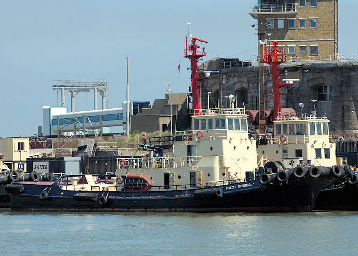 Svitzer Brenda pictured at Sheerness on 22nd May 2010