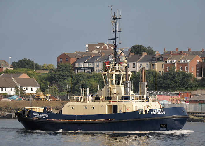 Svitzer Redbridge pictured at North Shields on 22nd August 2013