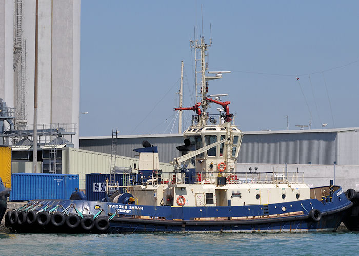 Svitzer Sarah pictured at Southampton on 8th June 2013