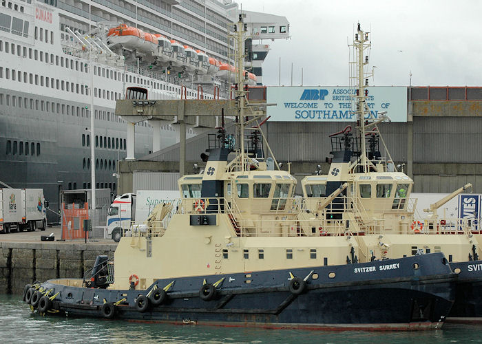 Svitzer Surrey pictured in Southampton on 14th August 2010