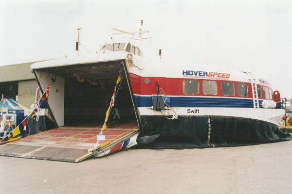 Swift pictured at Lee-on-the-Solent on 31st May 1999