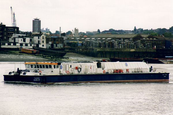 Thames Bubbler pictured at Greenwich on 10th June 1996