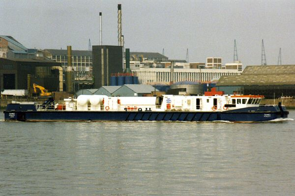 Thames Vitality pictured in London on 13th May 1998