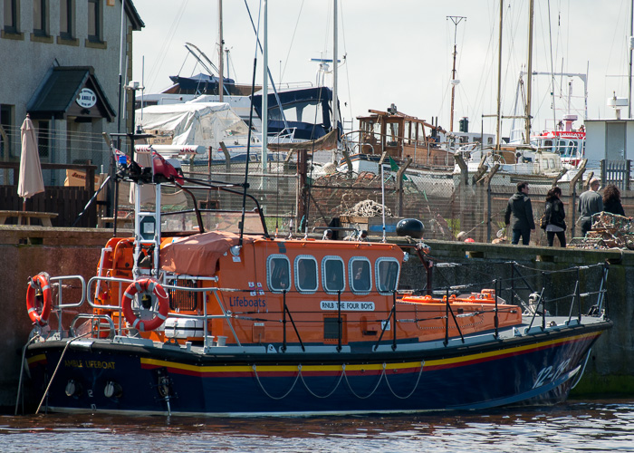 The Four Boys pictured at Amble on 25th May 2014