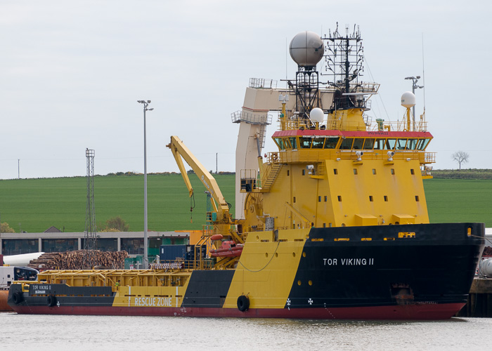 Tor Viking II pictured at Montrose on 3rd May 2014