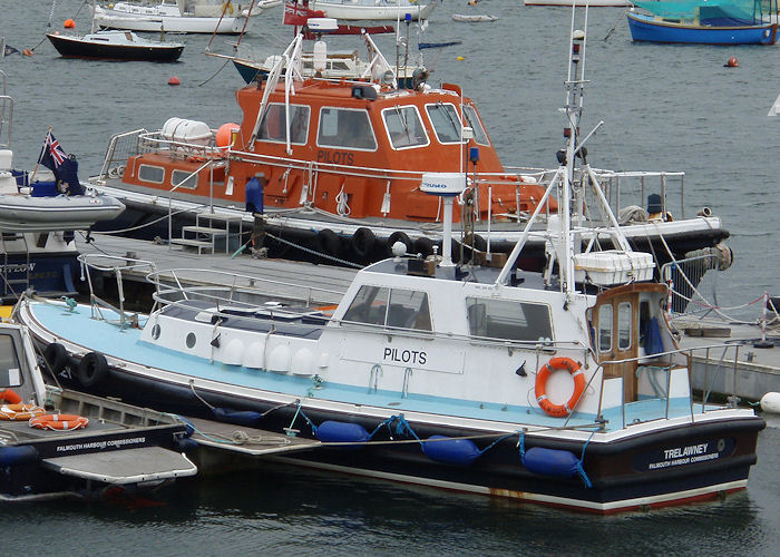 Trelawney pictured in Falmouth on 30th August 2007