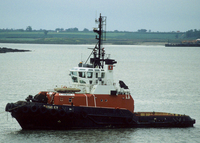 Trimley pictured at Harwich on 26th May 1998