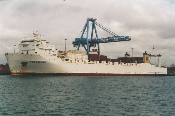 Tyrusland pictured in Liverpool on 4th August 2000