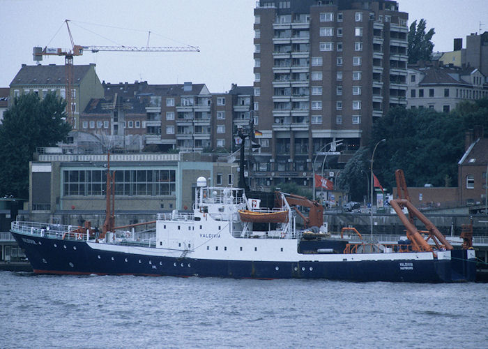 Valdivia pictured at Hamburg on 25th August 1995