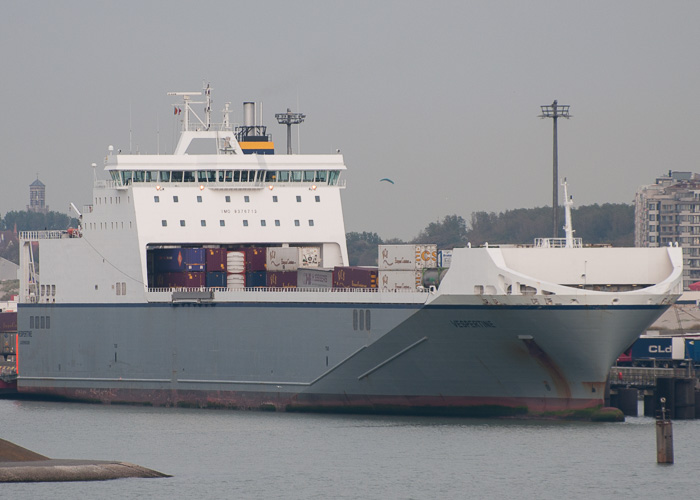 Vespertine pictured at Zeebrugge on 19th July 2014