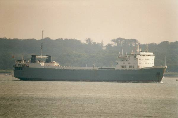 Villars pictured arriving in Southampton on 13th August 1996