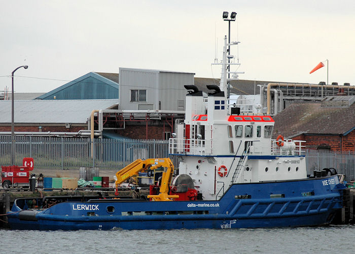 Voe Chief pictured at Grimsby on 5th September 2009