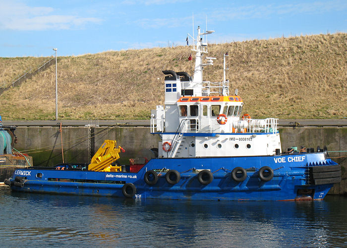 Voe Chief pictured at Eyemouth on 21st March 2010