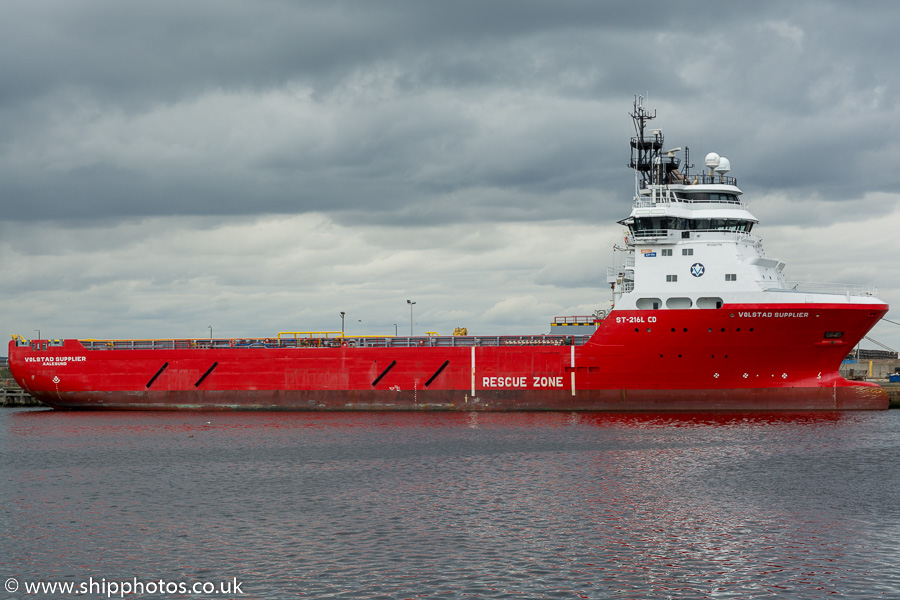 Volstad Supplier pictured at Leith on 14th April 2017