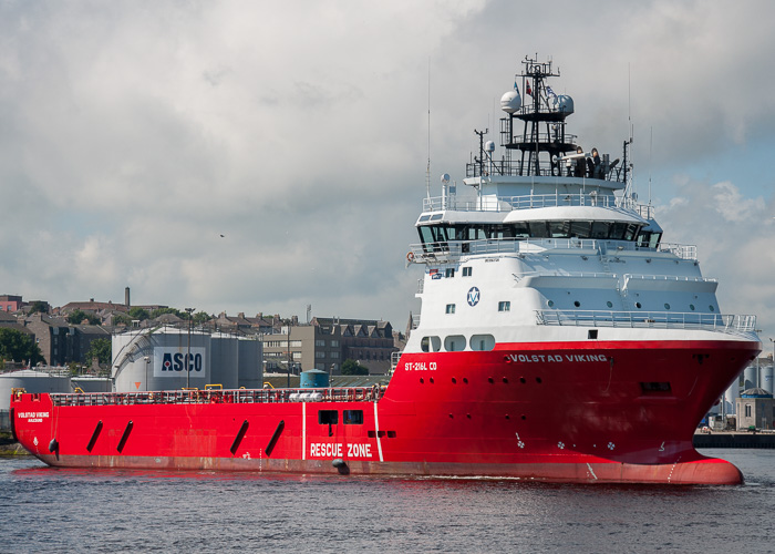Volstad Viking pictured at Aberdeen on 10th June 2014