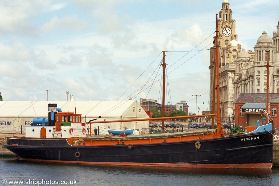 Wincham pictured in Canning Half-Tide Dock, Liverpool on 29th June 2002