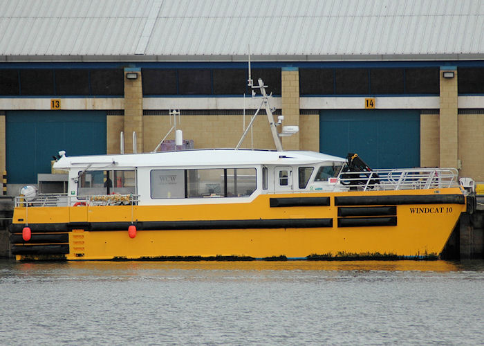 Windcat 10 pictured at Grimsby on 5th September 2009