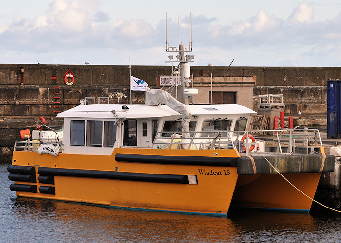 Windcat 15 pictured at Buckie on 15th April 2012