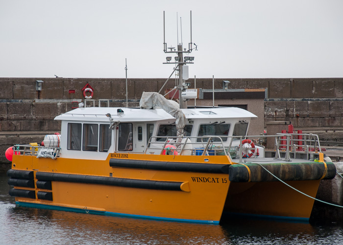 Windcat 15 pictured at Buckie on 5th May 2014