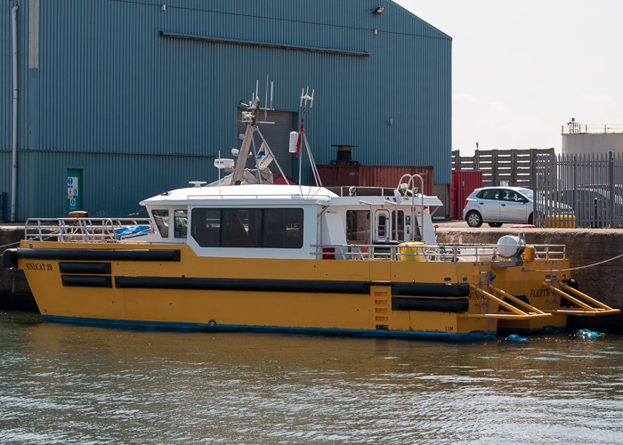 Windcat 29 pictured at Liverpool on 31st May 2014