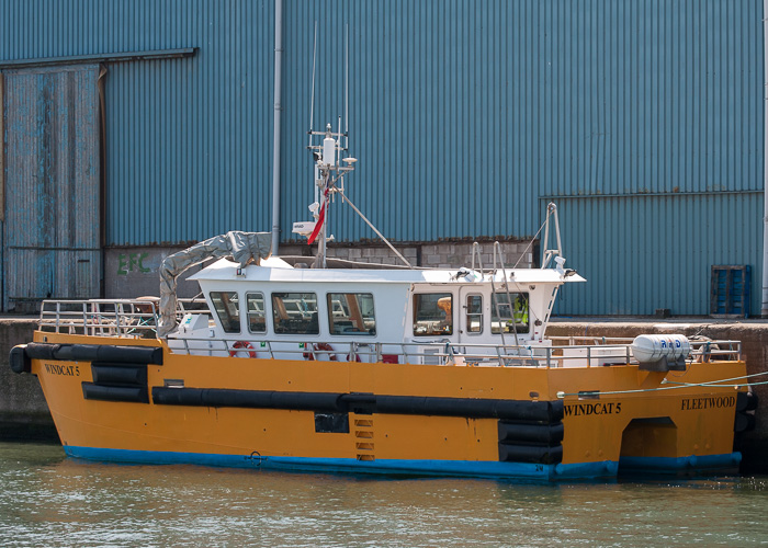 Windcat 5 pictured at Liverpool on 31st May 2014