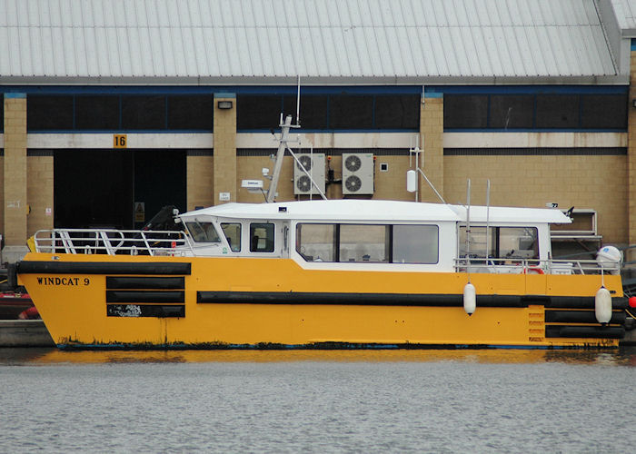 Windcat 9 pictured at Grimsby on 5th September 2009