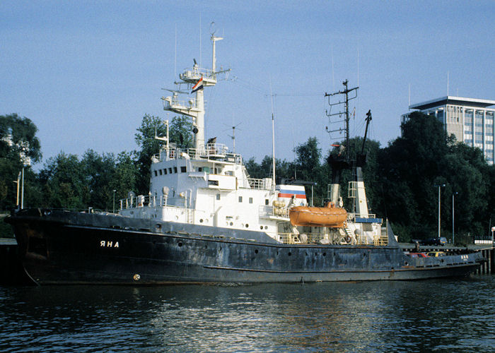 Yana pictured at Parkkade, Rotterdam on 27th September 1992