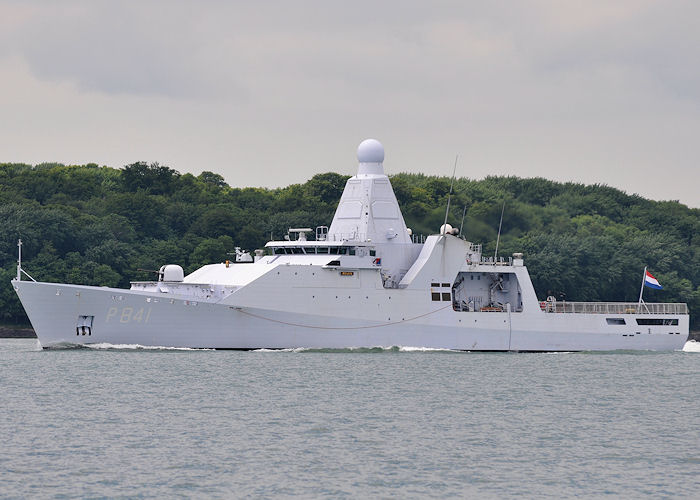 Zeeland pictured in the Solent on 10th June 2013